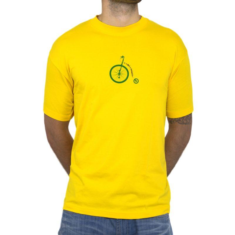 bicicletta fronte yellow uomo