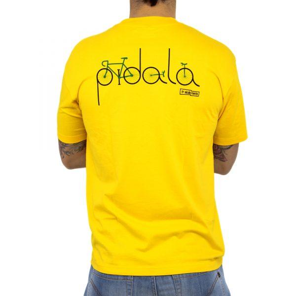 bicicletta retro yellow uomo