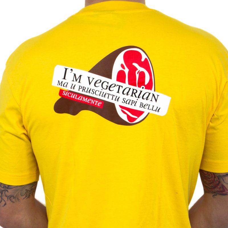 i'm vegetarian dettaglio yellow uomo