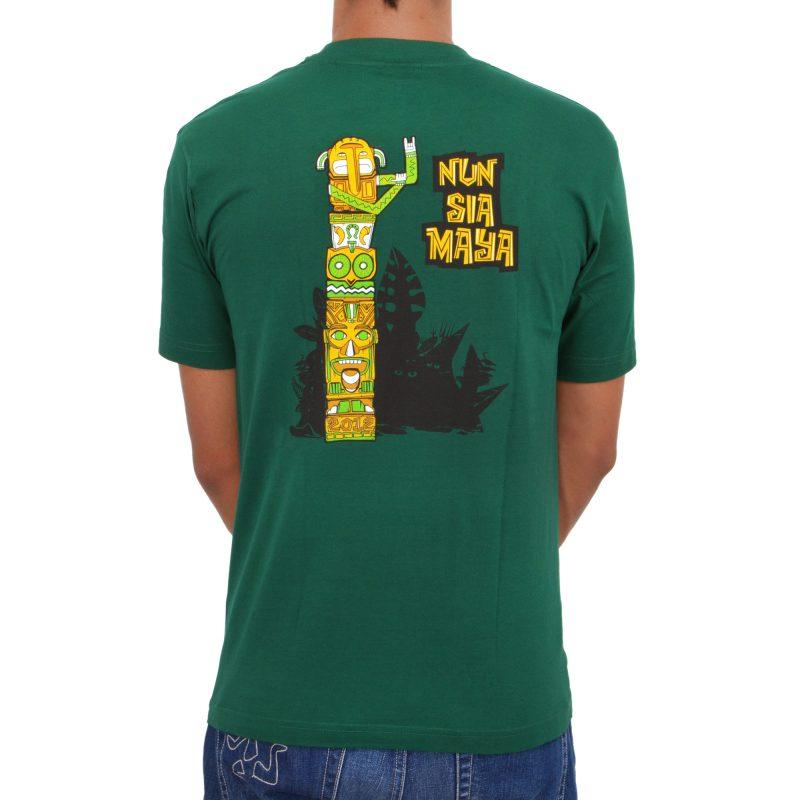 nun sia maya forest green retro