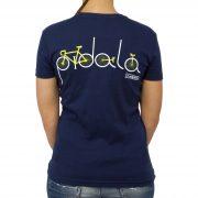 bicicletta retro navy donna