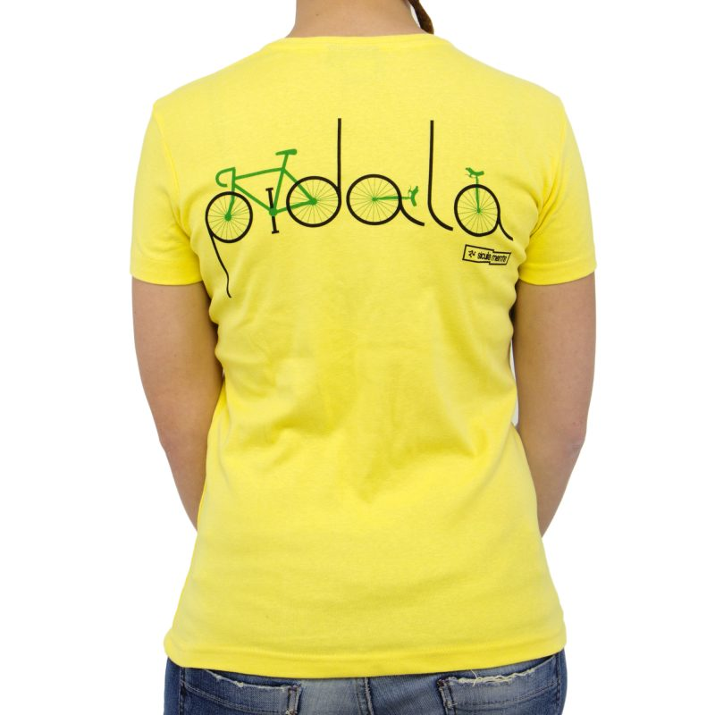 bicicletta retro yellow donna