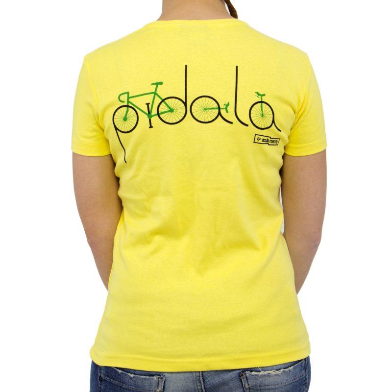 bicicletta retro yellow donna