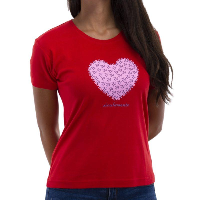 cuore rosso fronte