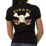 pirati no cool black retro