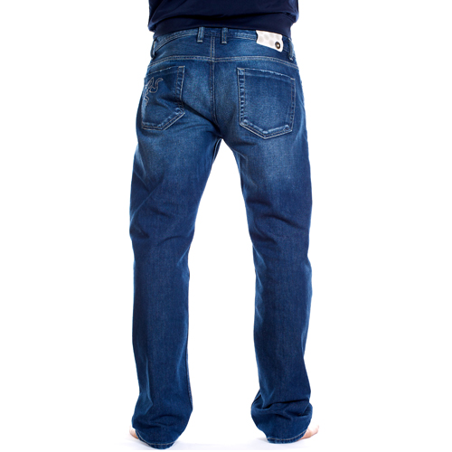 jeans regular chiaro retro