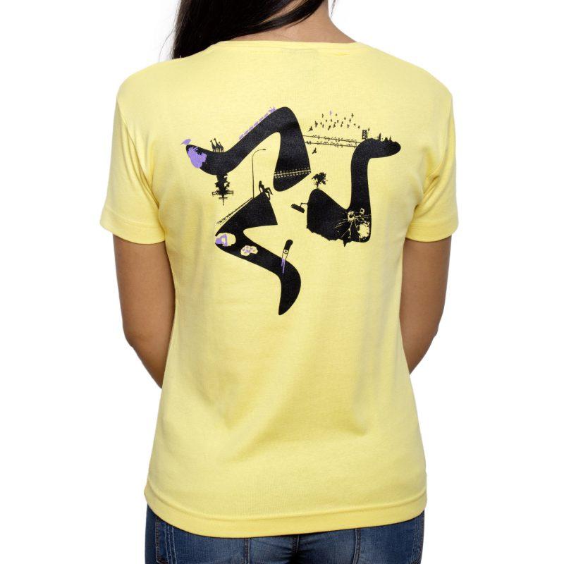 trinacria giallo retro