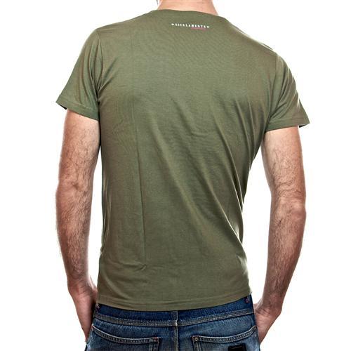 mutu cu sapi verde militare retro