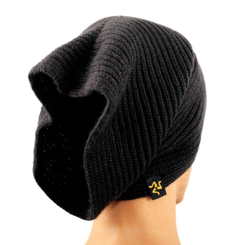 cap collare black cappello
