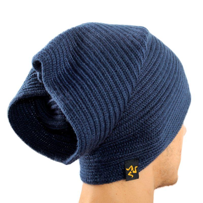 cap collare navy cappello