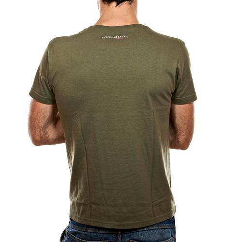 nun ti pigghiu verde militare retro