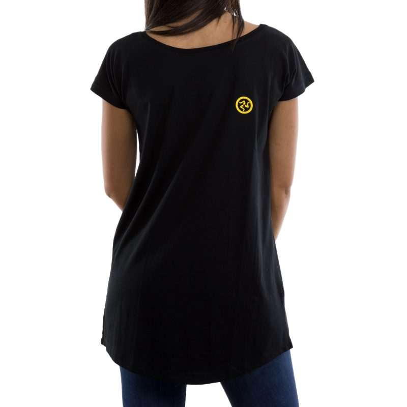 t-shirt long futtitinni nero retro