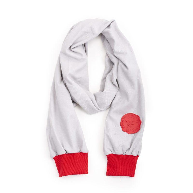 abraccio grigio chiaro rosso