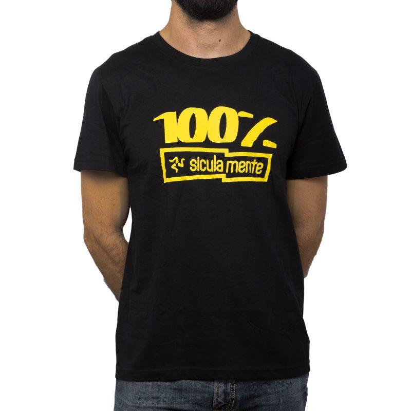 100% nero fronte