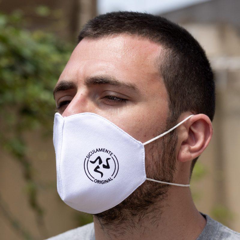 mascherina bianco
