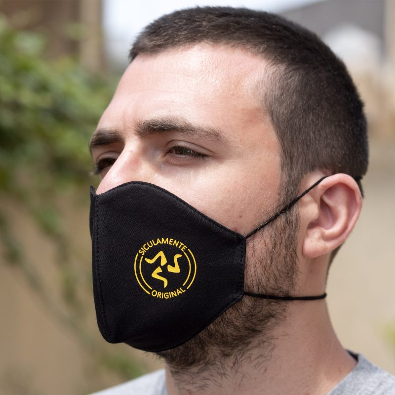 mascherina nero