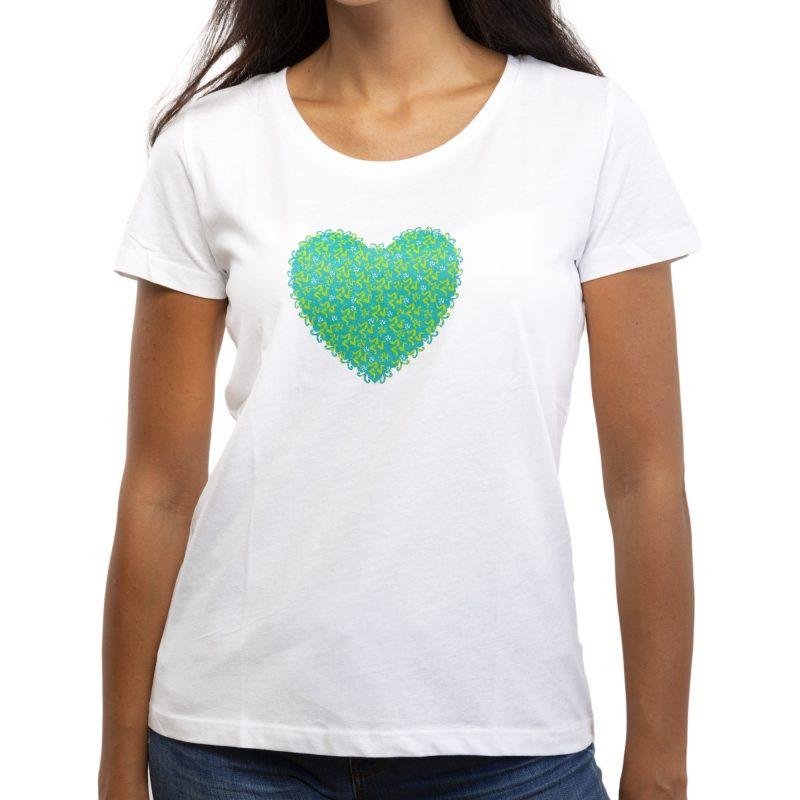 cuore bianco fronte